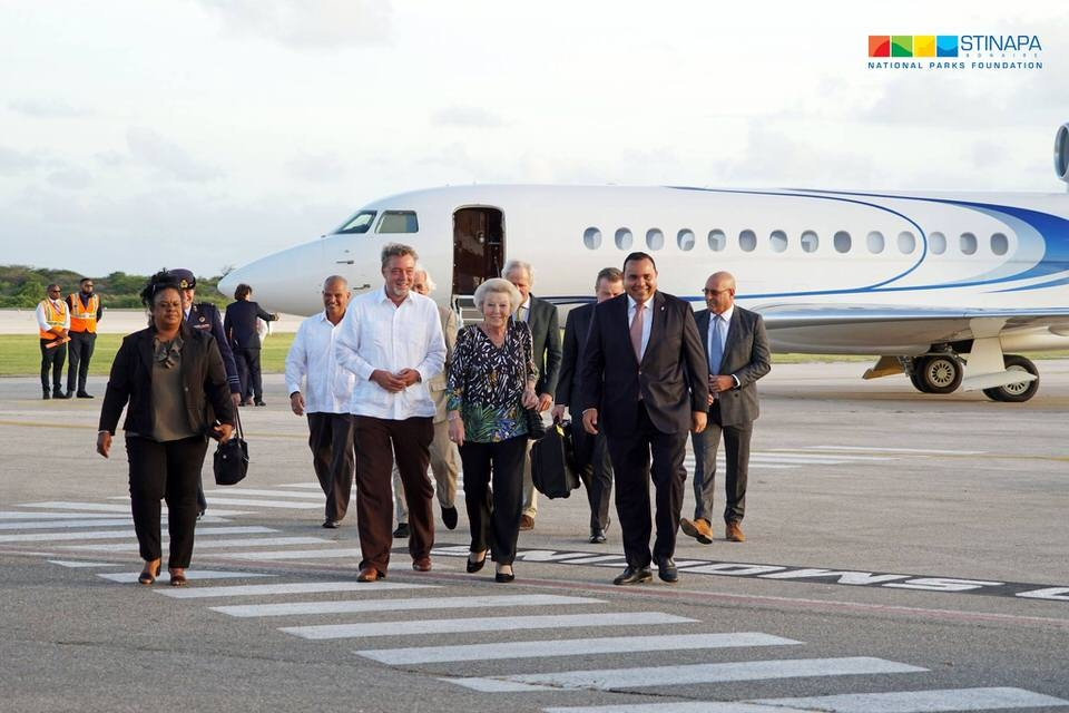 Her Royal Highness Princess Beatrix of the Netherlands pays a visit to Bonaire 1-1