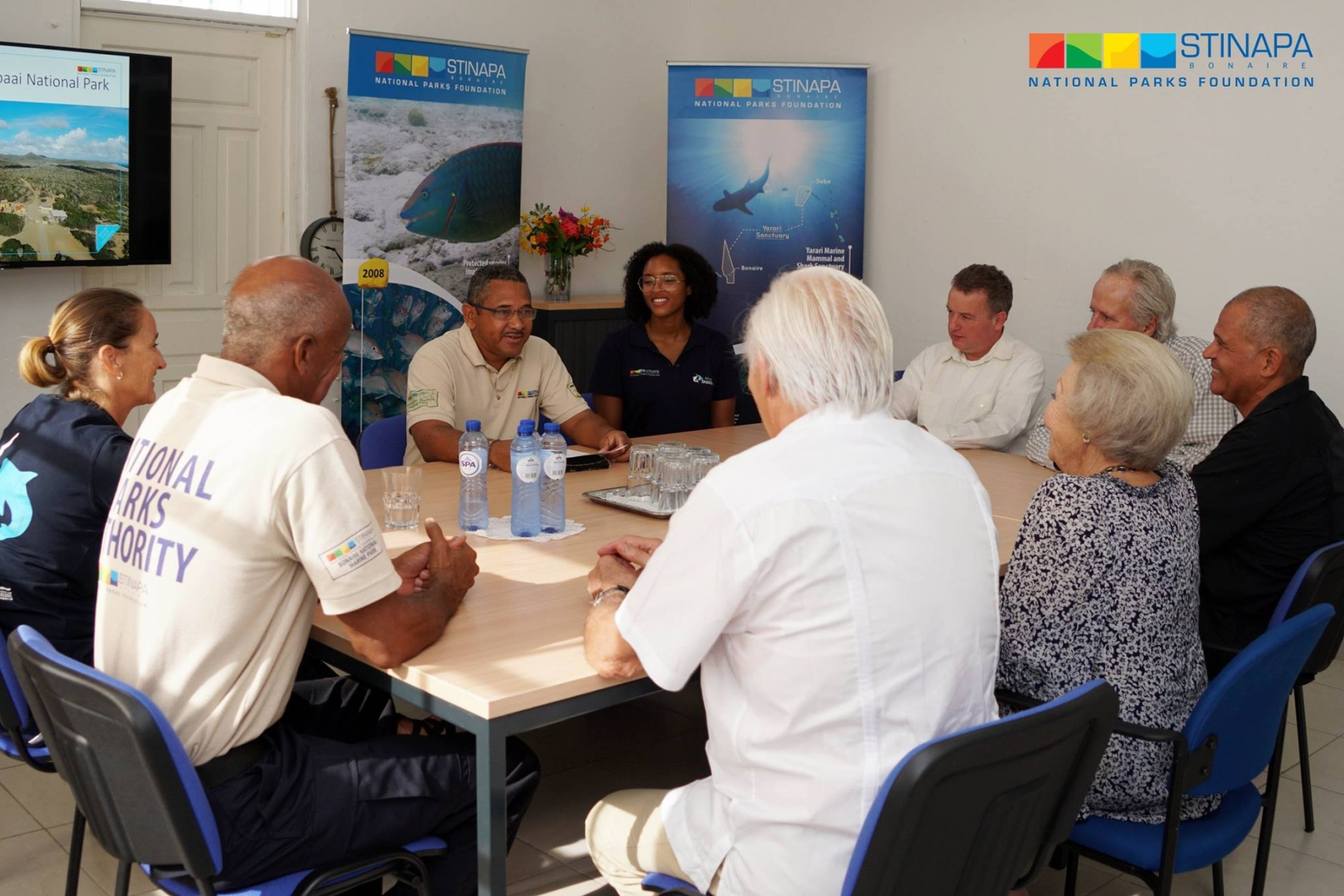 Her Royal Highness Princess Beatrix of the Netherlands pays a visit to Bonaire 2