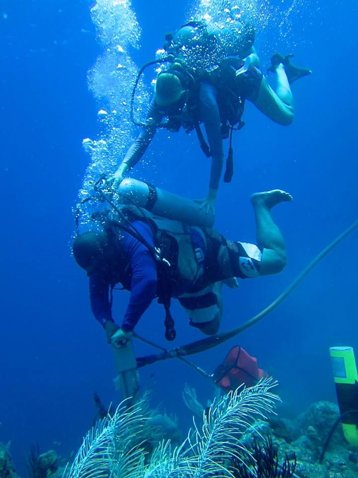 Mooring Installation Bonaire